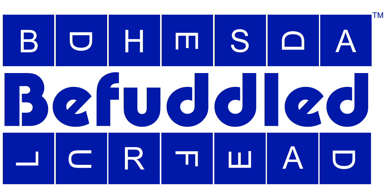 Befuddled Kerfuddle word game cup